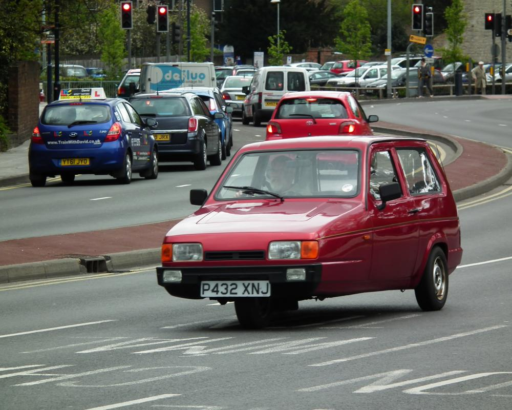 Reliant Robin Lx | Flickr - Photo Sharing!