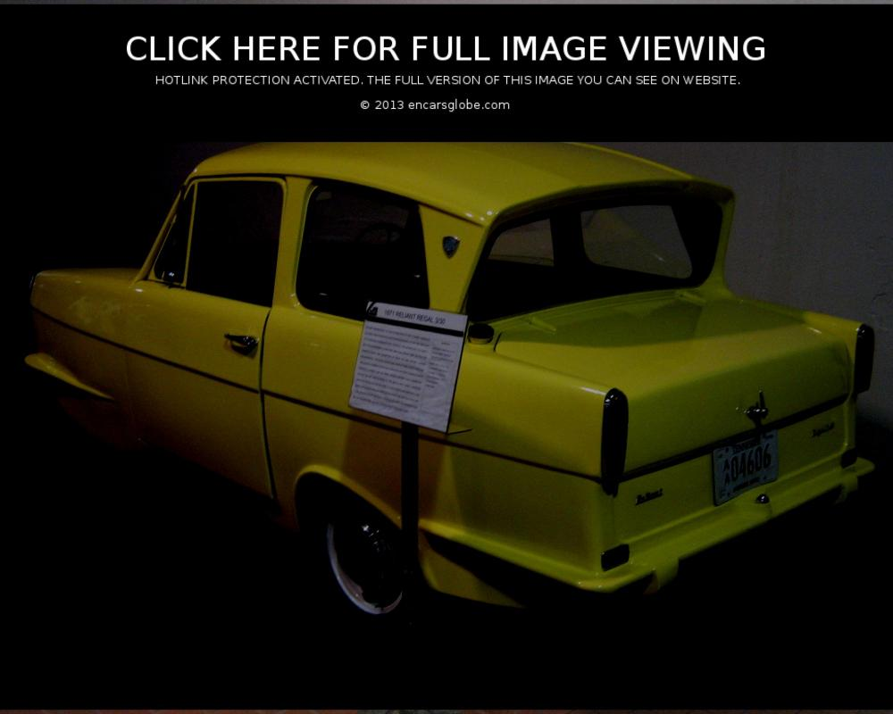 Reliant Regal 3/30 Photo Gallery: Photo #04 out of 11, Image Size ...