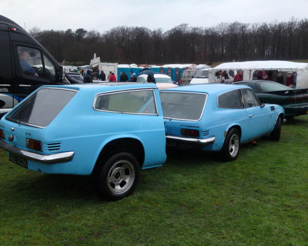 1972 RELIANT SCIMITAR 3.5 GTE COUPE + TRAILER | Flickr - Photo ...