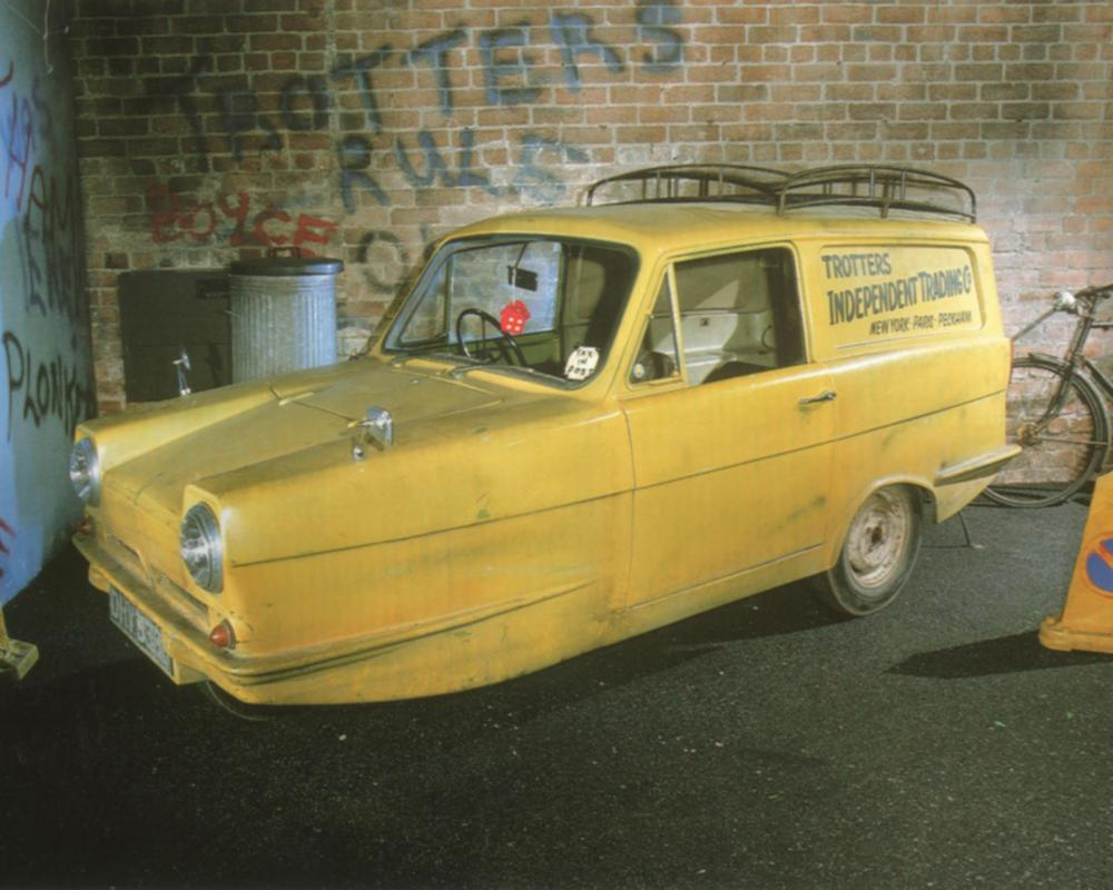 Only Fools & Horses..Del's Reliant Regal Super van 3. | Flickr ...