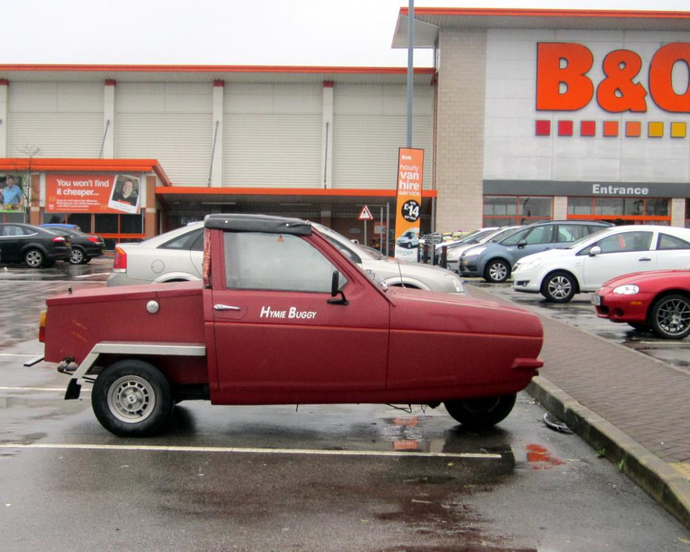 Reliant Robin Ute | Flickr - Photo Sharing!