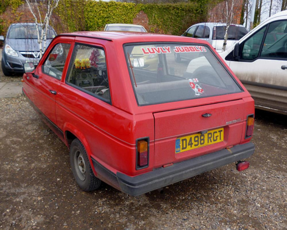 1987 Reliant Rialto SE saloon | Flickr - Photo Sharing!
