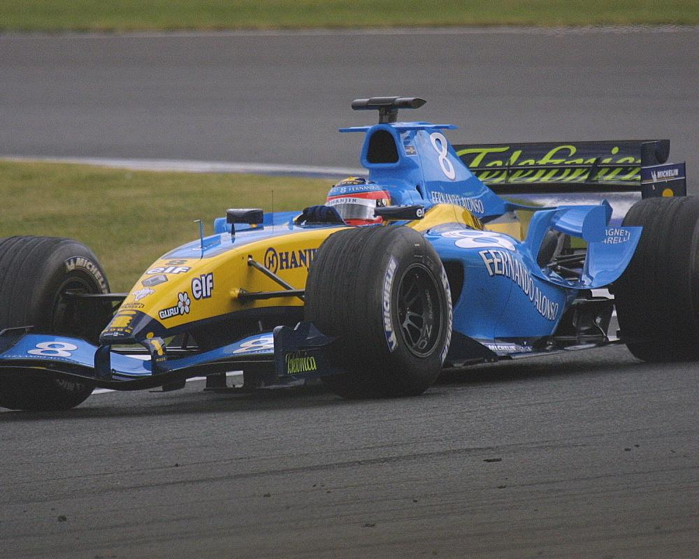 Fernando Alonso - Renault R24 Renault V10 c | Flickr - Photo Sharing!