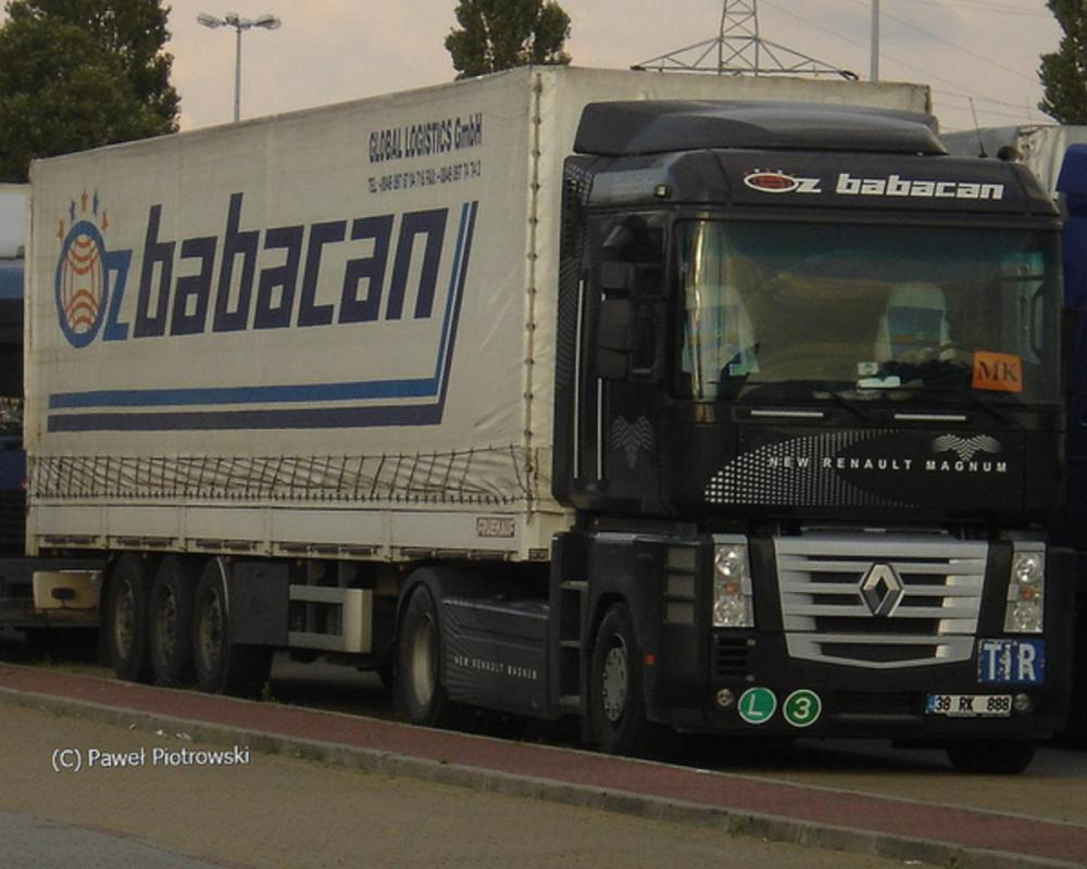 Renault Magnum DXi- Öz Babacan (TR) | Flickr - Photo Sharing!