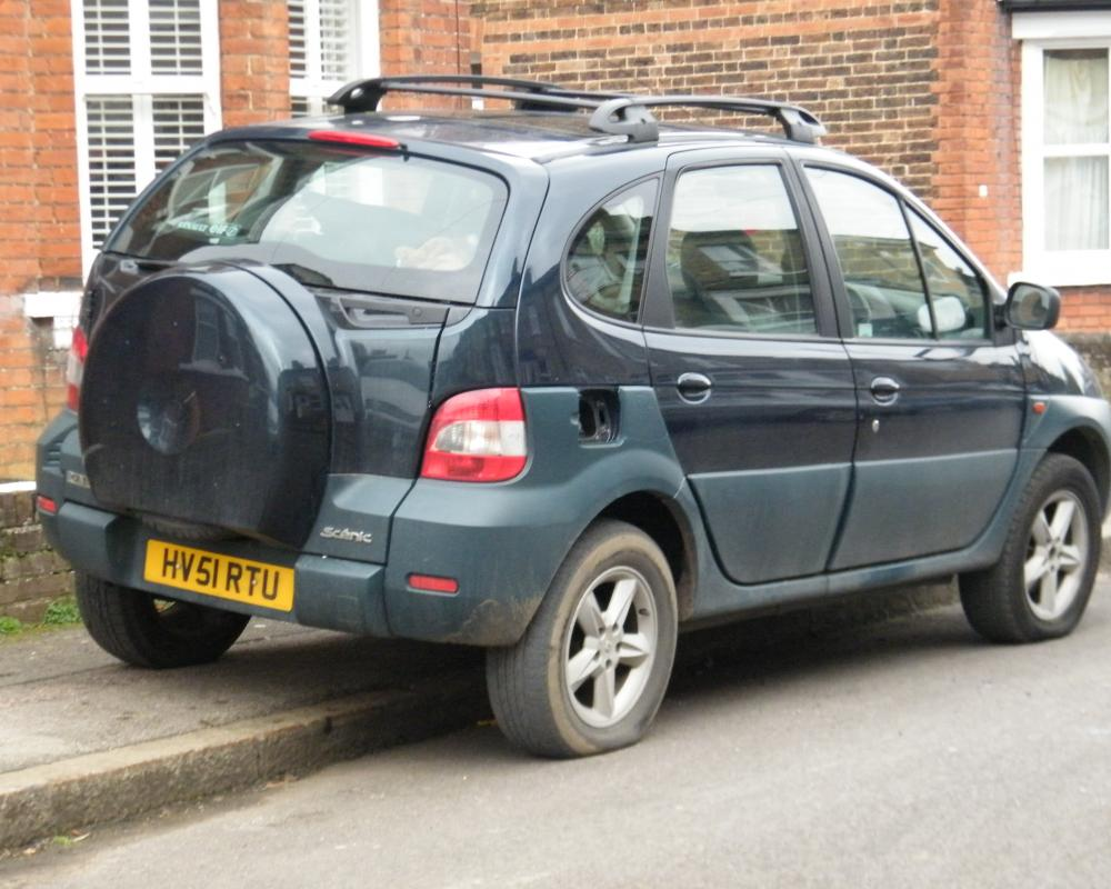 2001 Renault Scenic RX4 | Flickr - Photo Sharing!