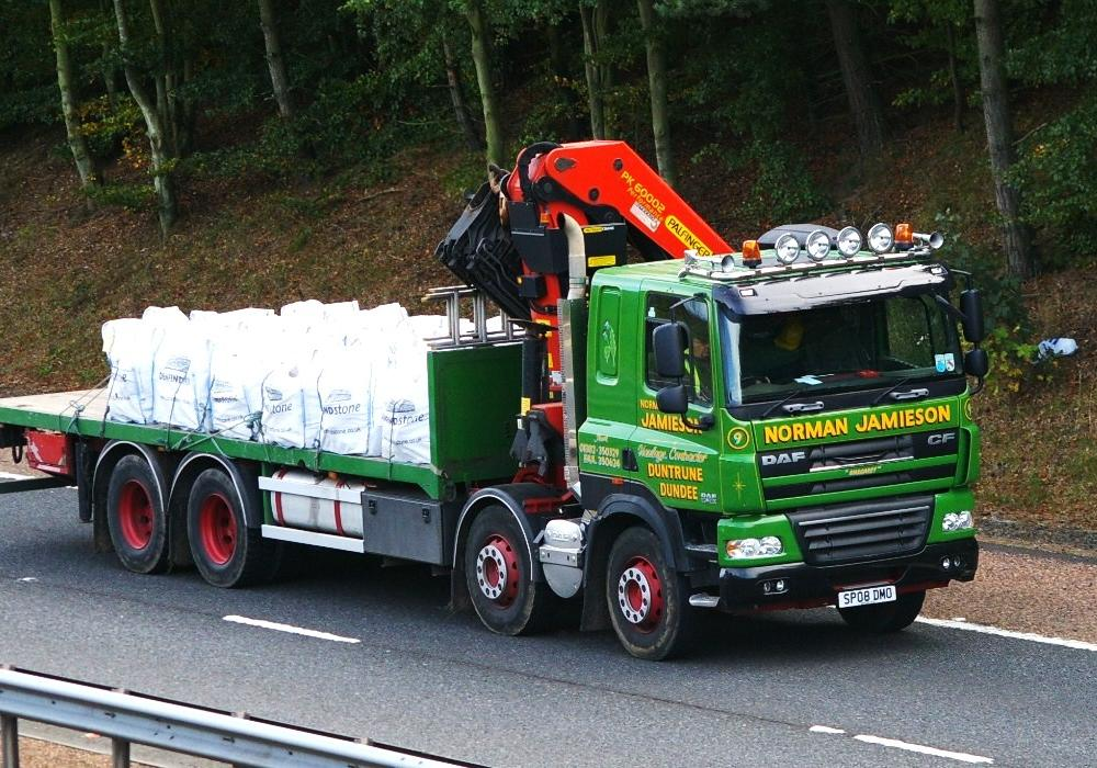 DAF CF-NORMAN JAMIESON Duntrune Dundee | Flickr - Photo Sharing!