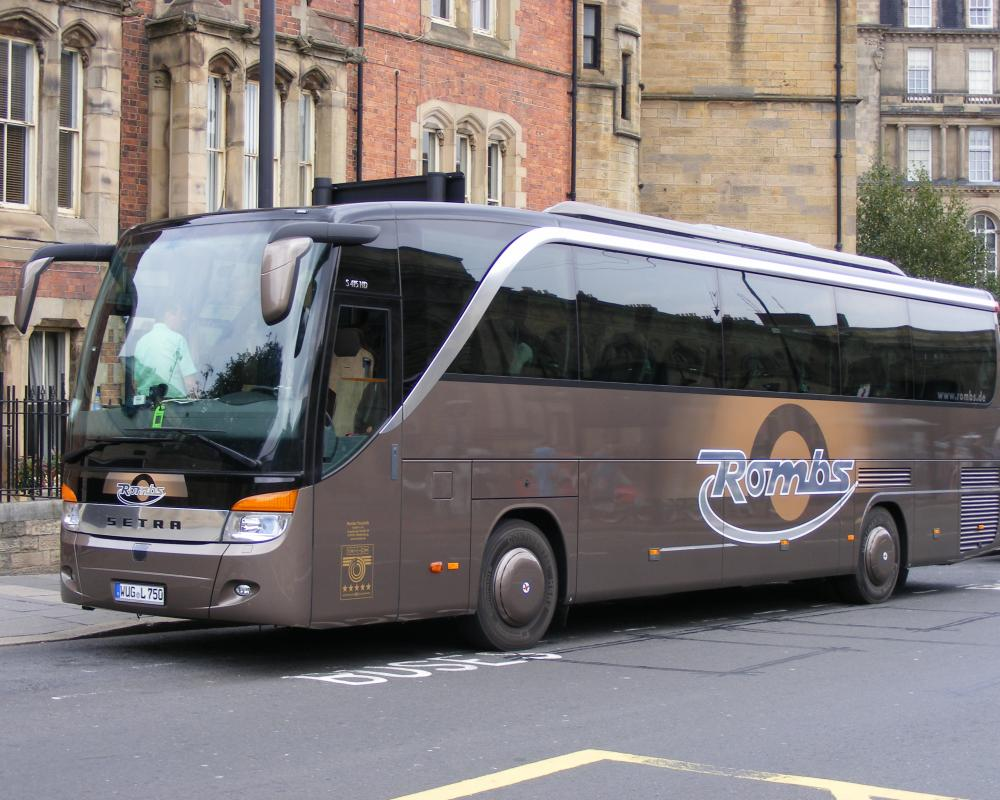Rombs: WUG-L-750 Setra S 415 HD Newcastle Upon Tyne | Flickr ...