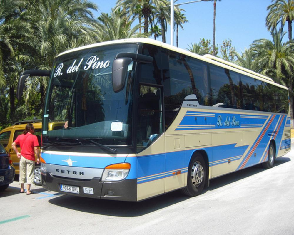 Setra S 415 GT-HD de Ramón del Pino | Flickr - Photo Sharing!