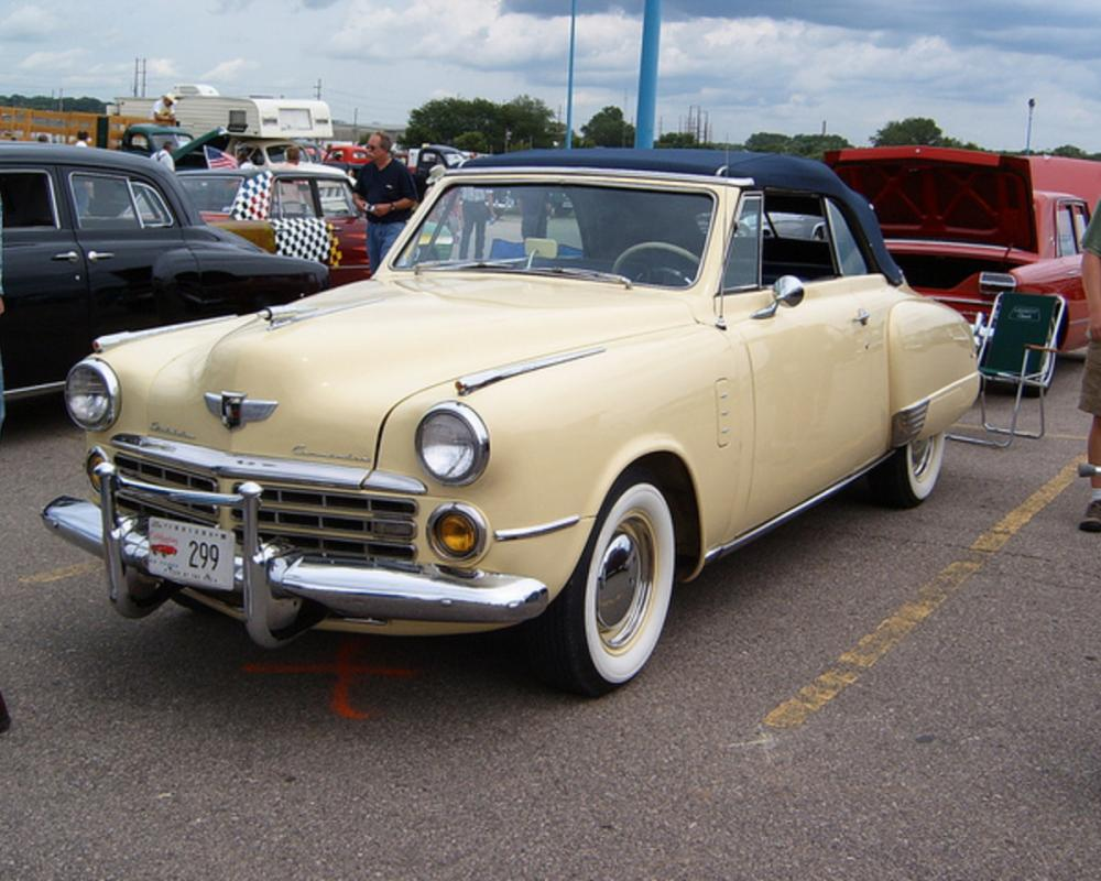 1948 Studebaker Commander convertible | Flickr - Photo Sharing!