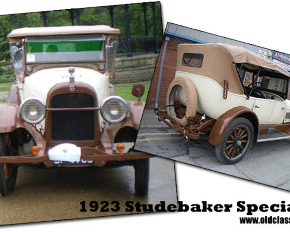 Mike's 1923 Studebaker Special Six tourer, imported from the USA.