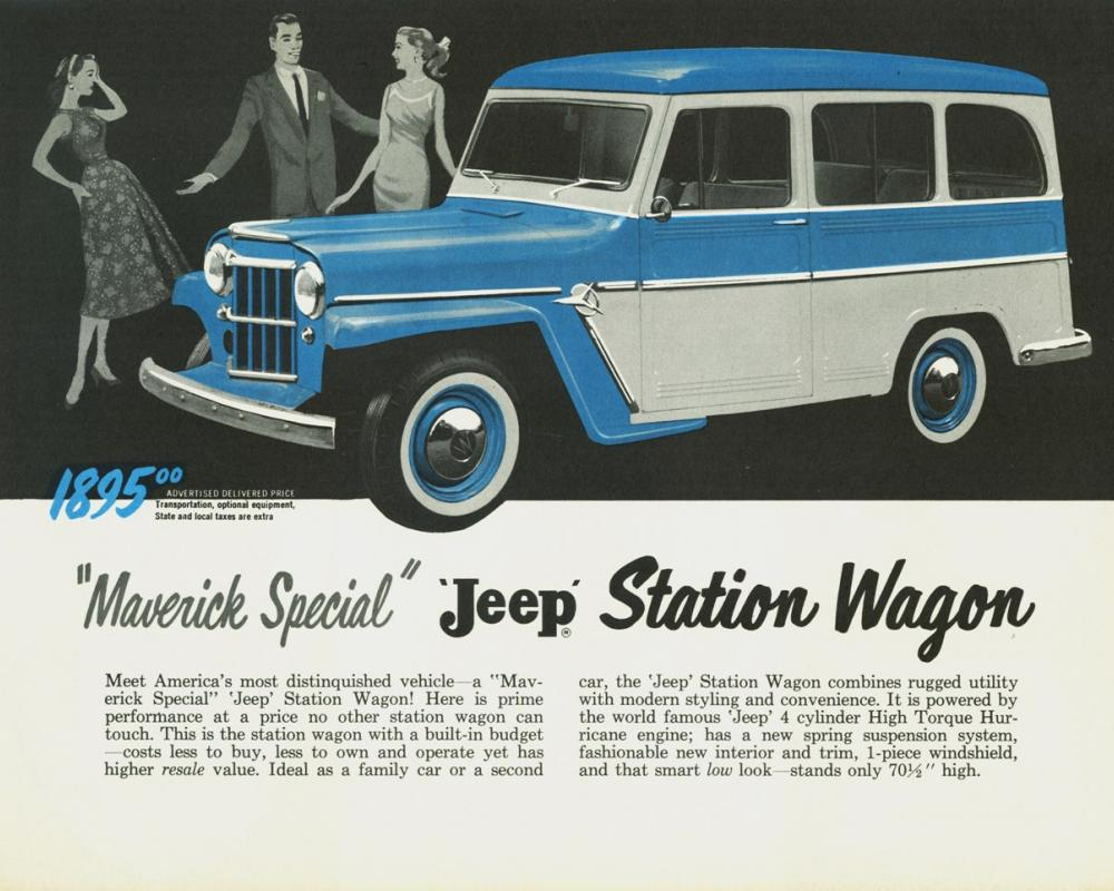 1958 Willys Jeep Maverick Special Station Wagon | Flickr - Photo ...