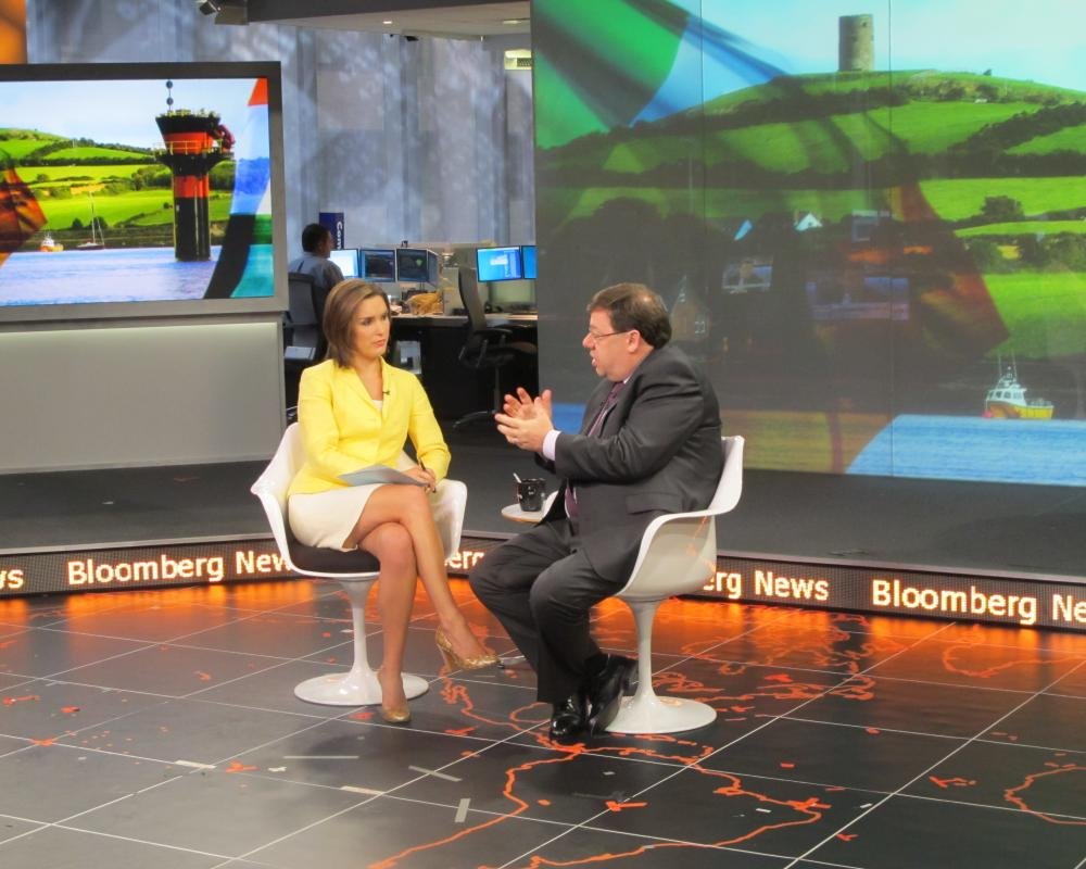 Taoiseach with Margaret Brennan Bloomberg TV,12 July 2010 | Flickr ...