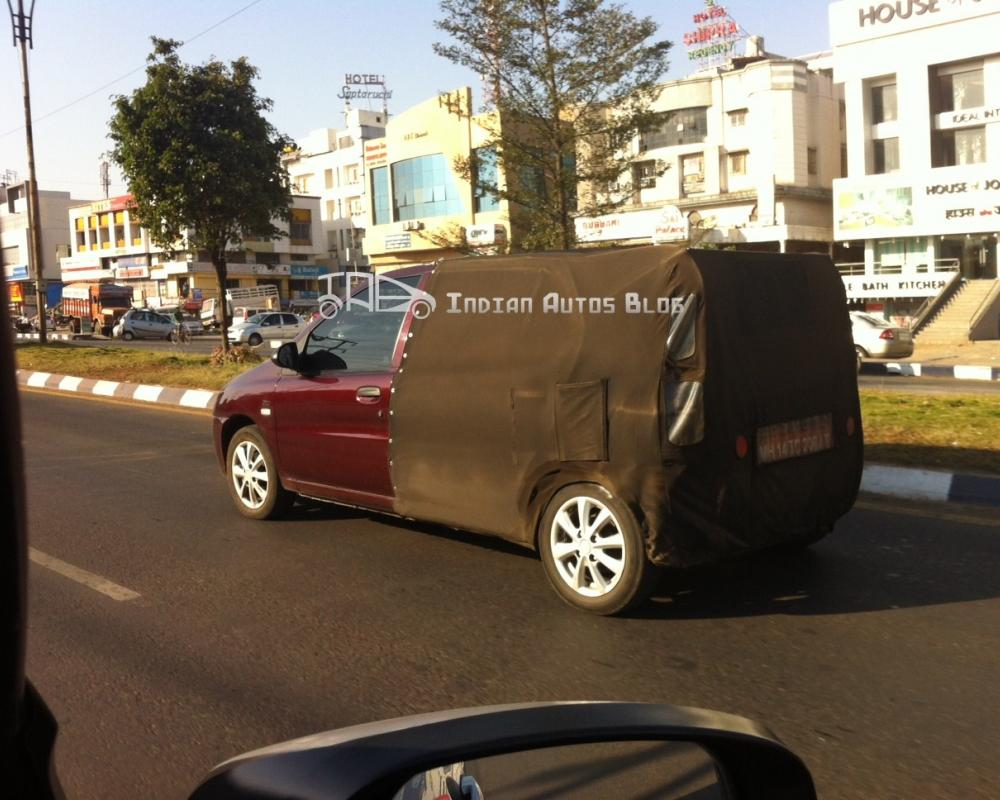 Tata Indica XL spyshot | Flickr - Photo Sharing!