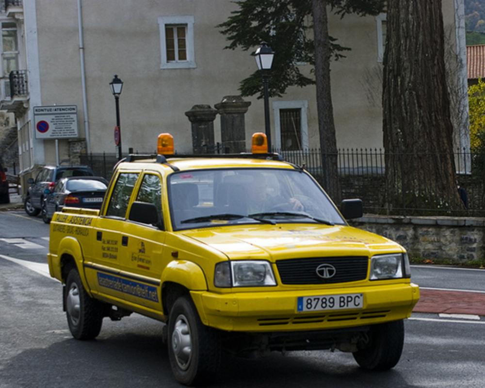 2001 Tata Telcoline Pick-up | Flickr - Photo Sharing!