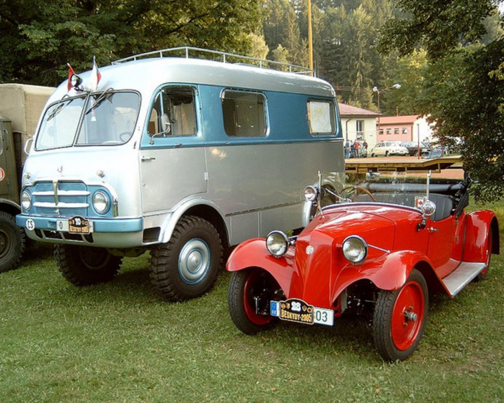 Tatra 805 and Tatra T57 | Flickr - Photo Sharing!
