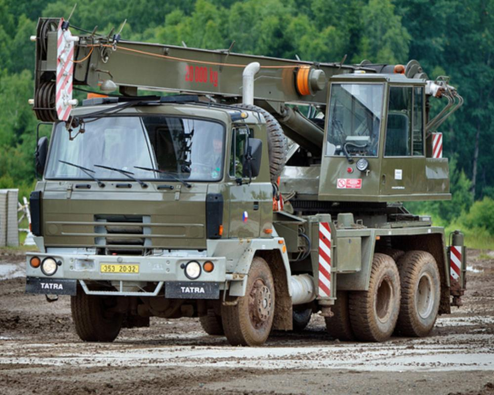 Tatra 815 6x6 army crane | Flickr - Photo Sharing!
