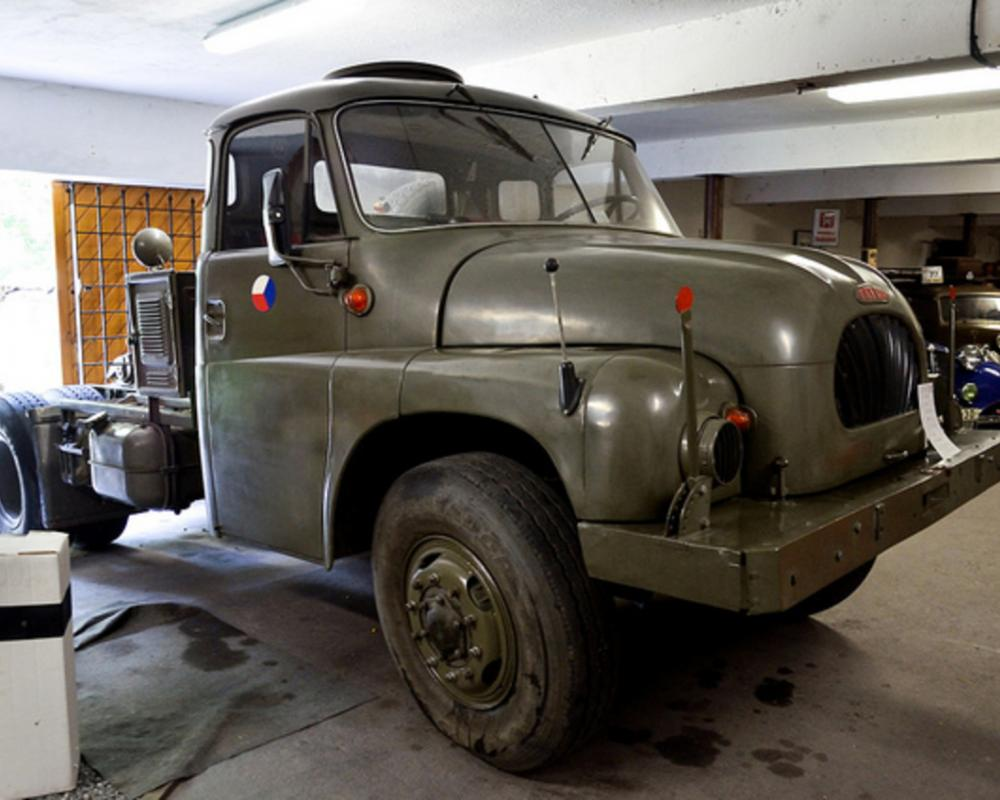 Tatra 138 NT 4x4 military trailer towing vehicle (1961) | Flickr ...
