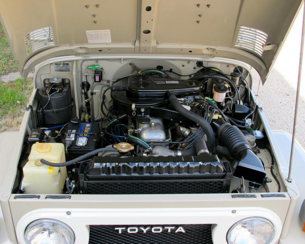 1978 Toyota Land Cruiser FJ40 Survivor For Sale Engine | Flickr ...