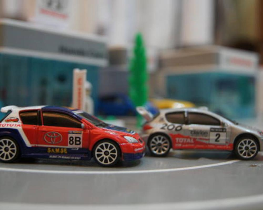 Toyota corolla rally & PEUGEOT 206 rally From Majorette | Flickr ...