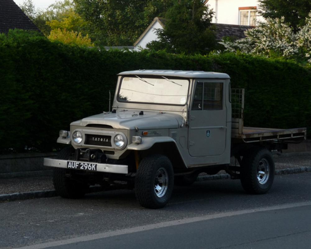 1971 Toyota Land Cruiser FJ40 Pickup | Flickr - Photo Sharing!