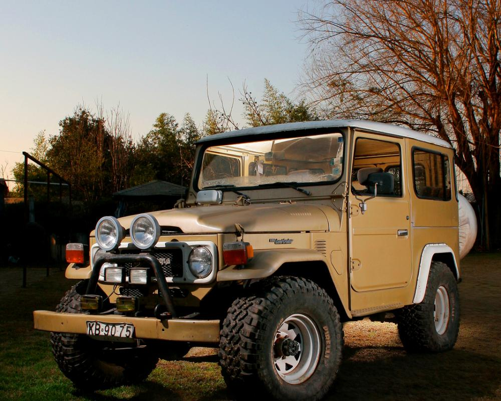 MI JUGUETE, TOYOTA LAND CRUISER FJ40 81 | Flickr - Photo Sharing!