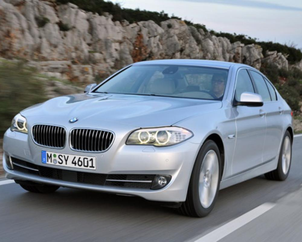 The new BMW 520d comes with a two-litre four cylinder turbo diesel engine