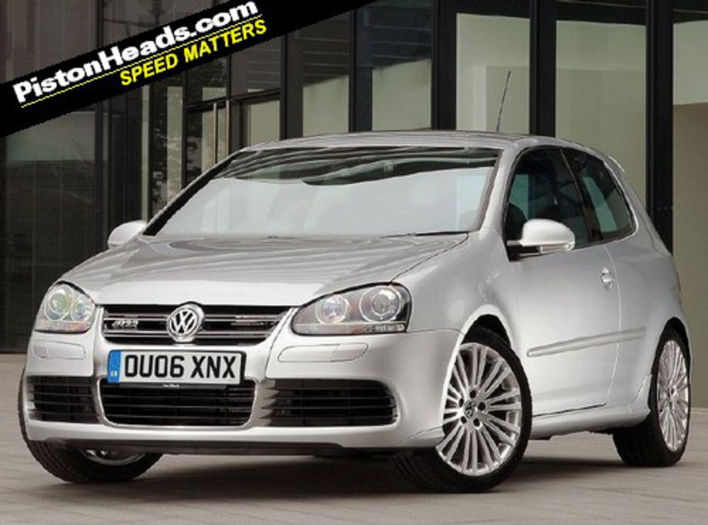 VW Golf R32. In the three decades since the surprise arrival of the first
