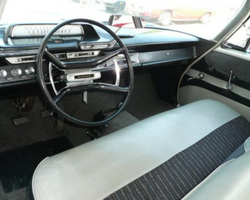 1961 Dodge Seneca 413 Max Wedge Sedan Interior