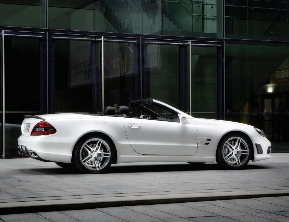 Mercedes-Benz SL 63 AMG Edition IWC 2008 The drive system of the SL 63 AMG