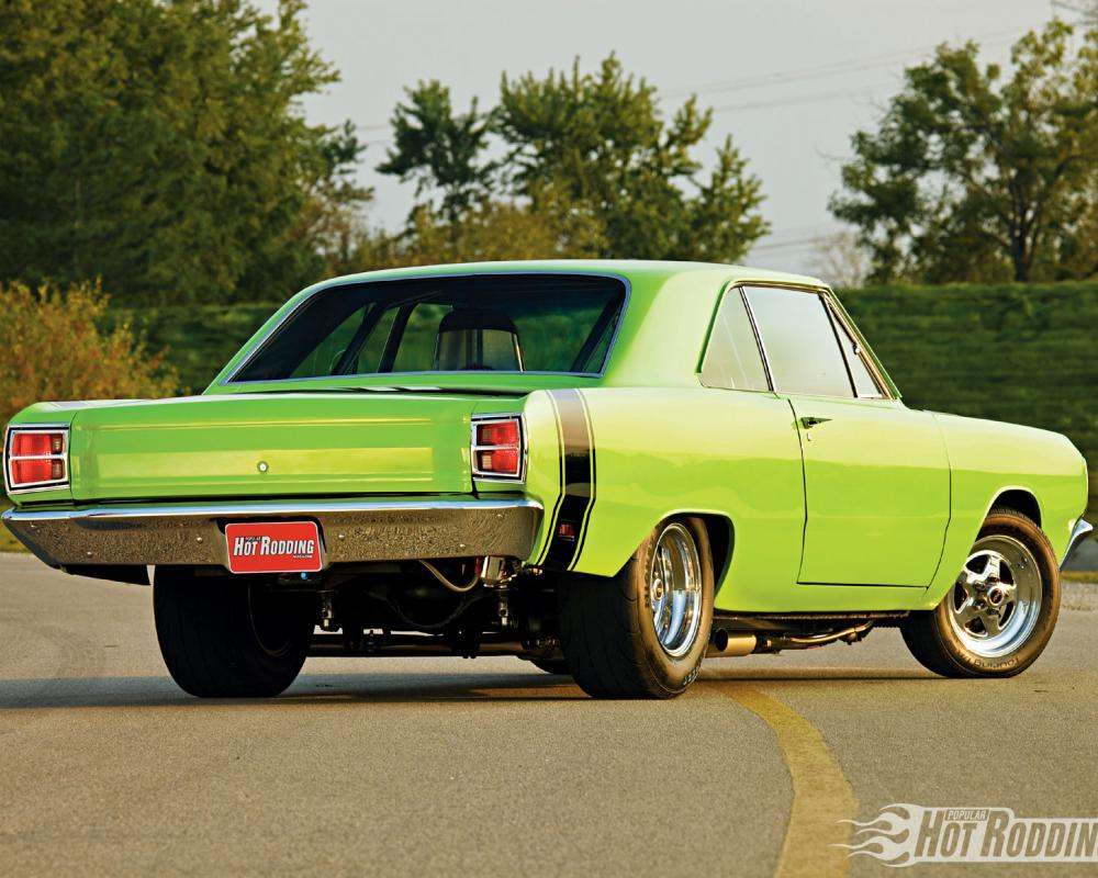 1969 Dodge Dart Gt Rear Right