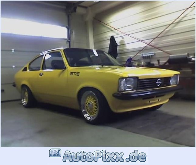 Opel kadett c coupe gte (889 comments) Views 16830 Rating 39