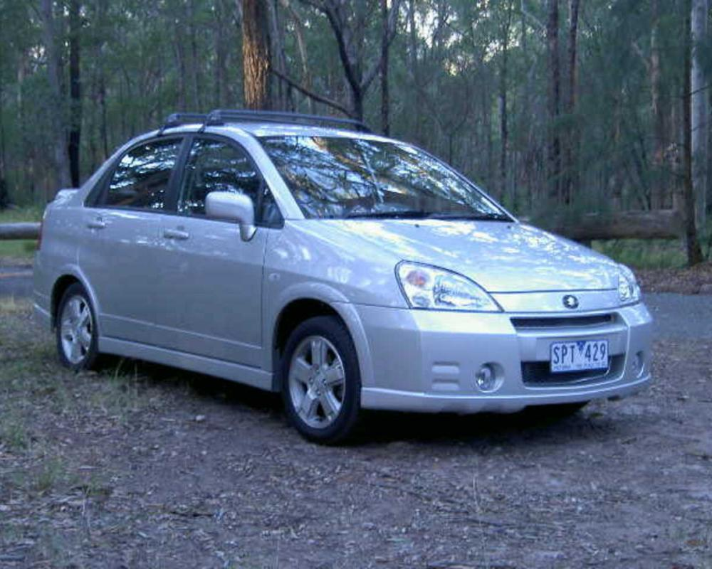 Suzuki Liana - cars catalog, specs, features, photos, videos, review, parts,