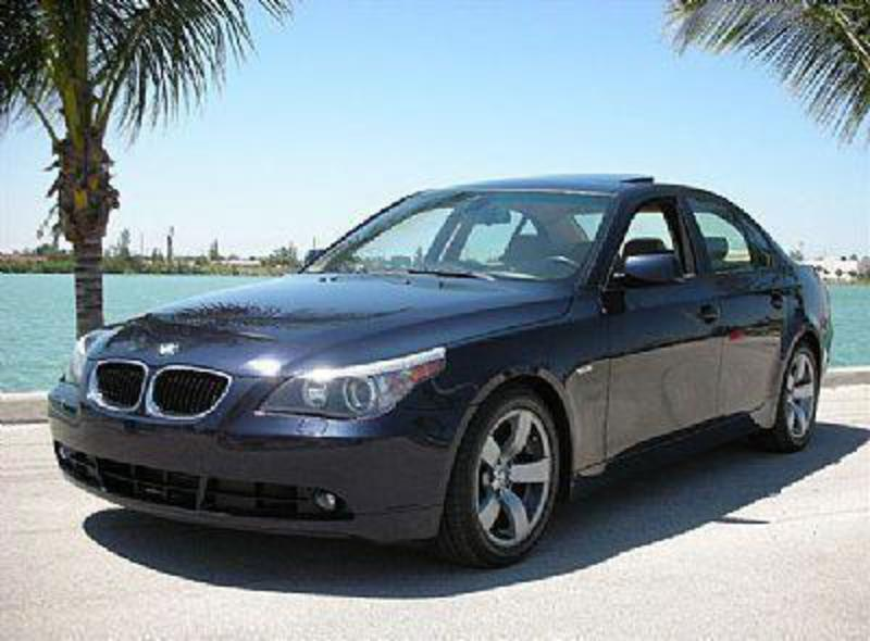The BMW 525i is fun to drive both in town and on the open road with smooth