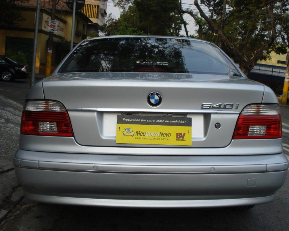 Bmw 540i 4.4 Protection Sedãn V8 32v Gasolina 4p.