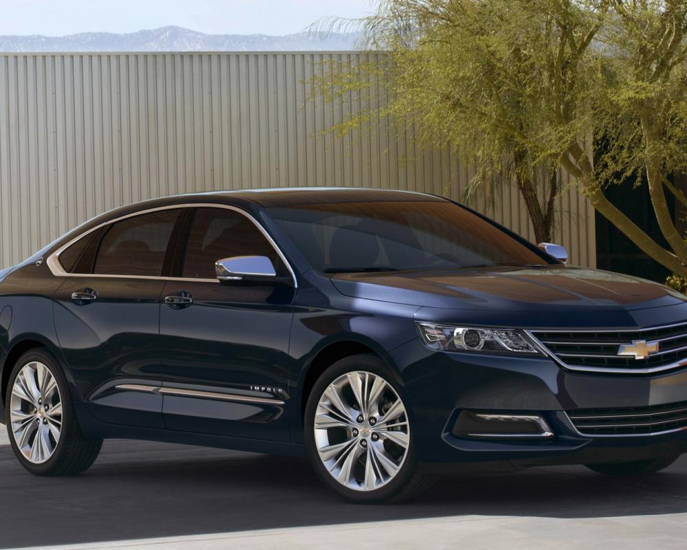 The 2014 Chevrolet Impala reminds me of a Chevy Malibu on Viagra – but in a