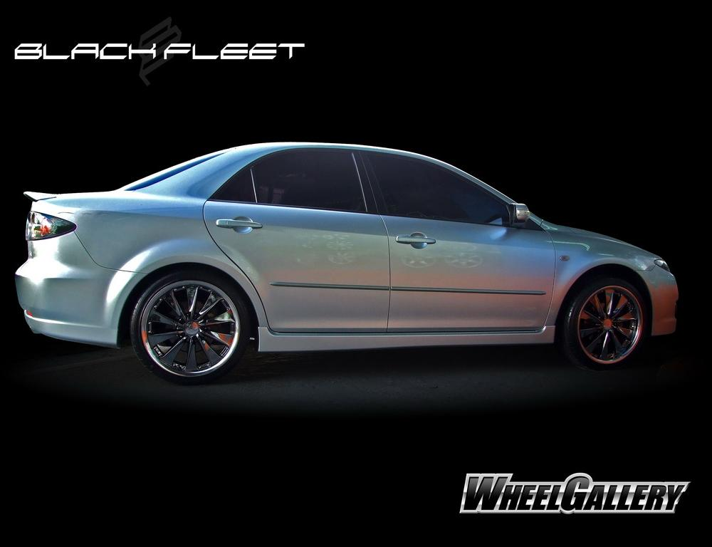"Mazda 6. Wheels: 19 "" BlackFleet V550"