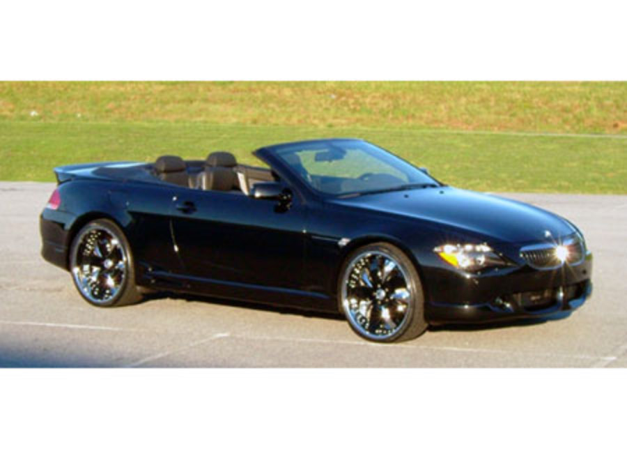 BMW 645i Convertible