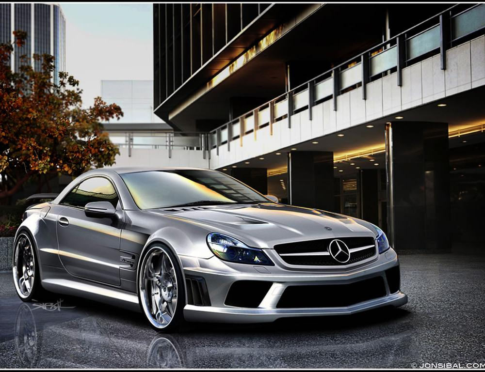 2007 Mercedes-Benz SL 65 AMG by MR Car Design