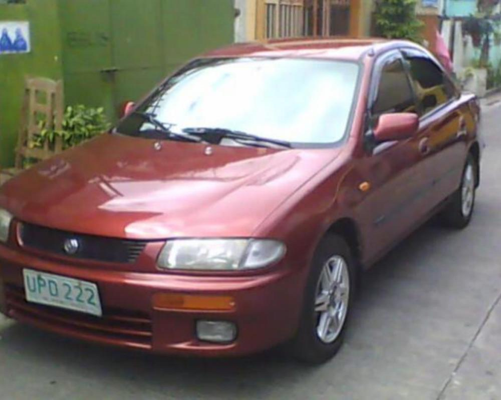 Pictures of MAZDA FAMILIA 323 GLXI 97 MODEL (RUSH)