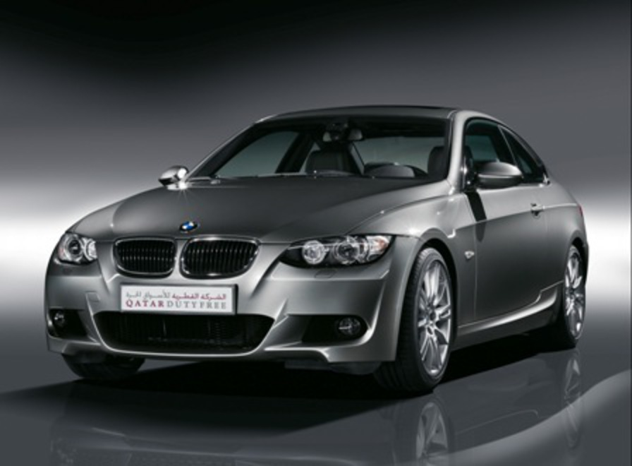 """We're excited to be raffling a 2009 BMW 320 Coupe exclusively for this"