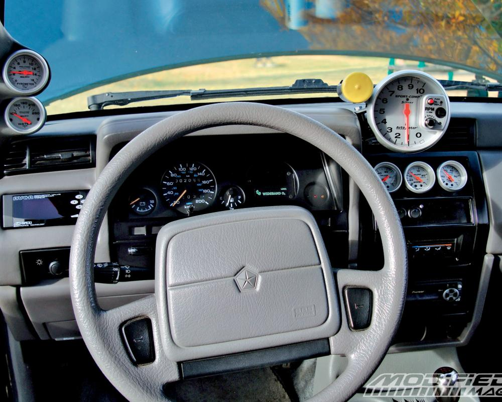 1993 Dodge Shadow Interior