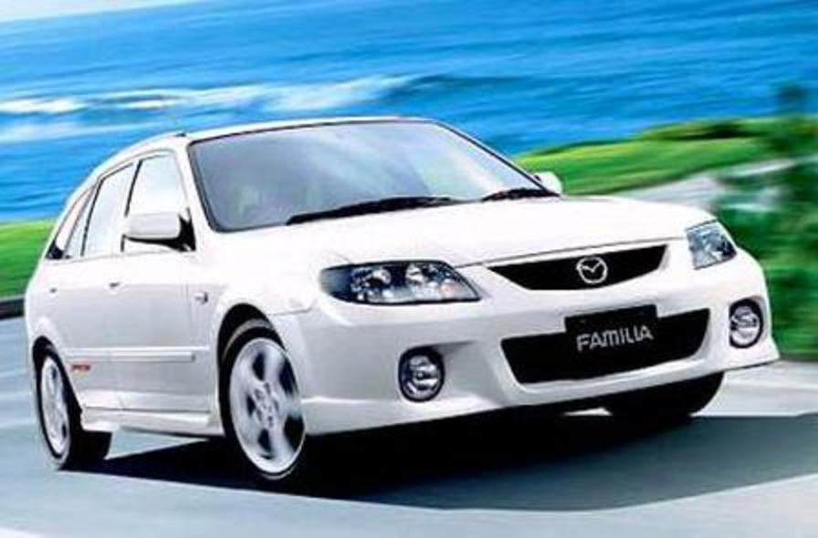 Mazda Familia S-Wagon 2002. View more pics of 2002 Mazda Familia S-Wagon .