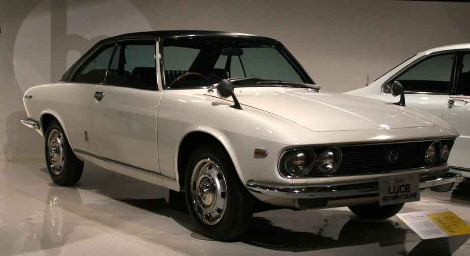 This 1969 Mazda Luce, was designed by Giorgetto Giugiaro of Italy.