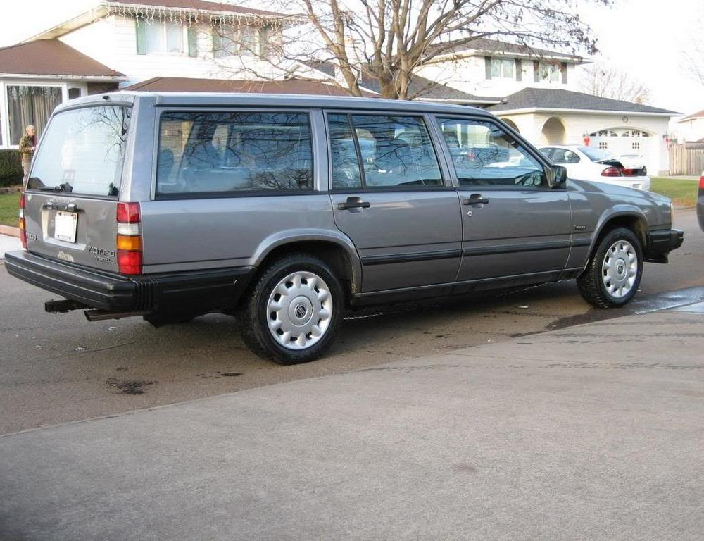 *SOLD* FS: 1988 Volvo 740 Turbo Wagon, Grey, 414000km: Rare manual