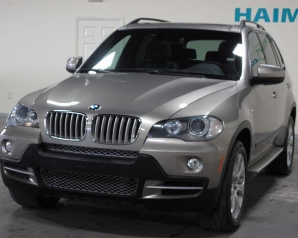 2008 BMW X5 AWD 4DR 48I SUV 2008 BMW X5 48i Navigation System Rear Back Up
