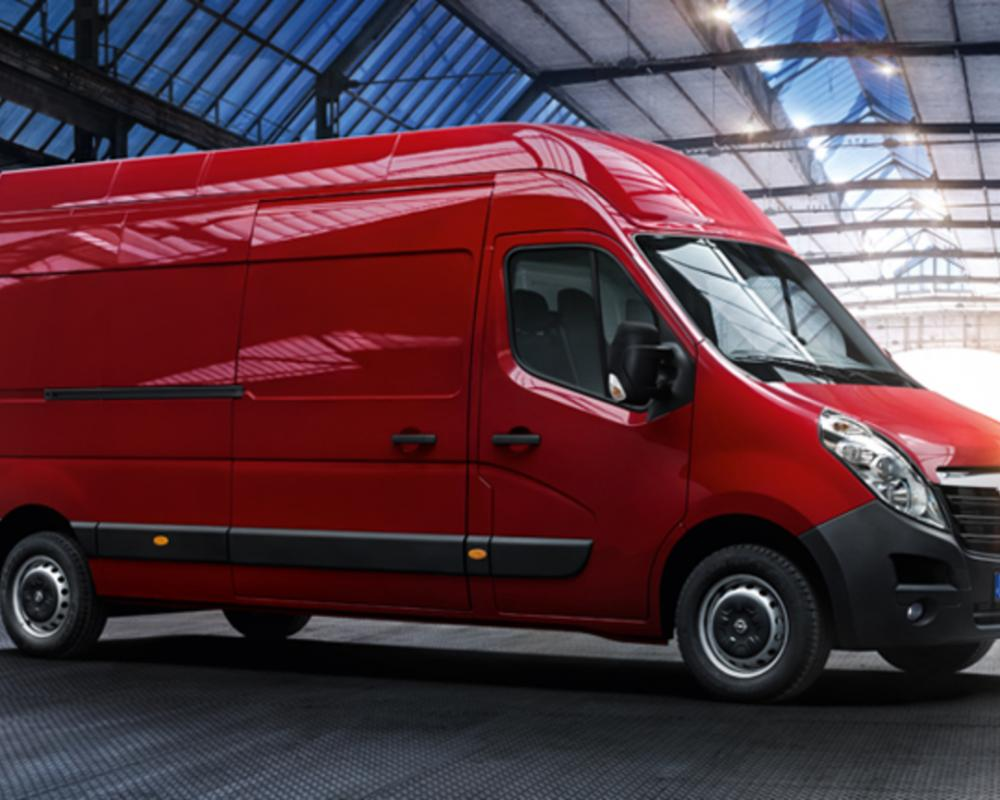 New Opel Movano tipper