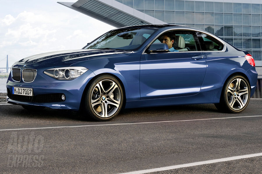 At the front, the new 2 Series Coupe will feature a similar headlight design