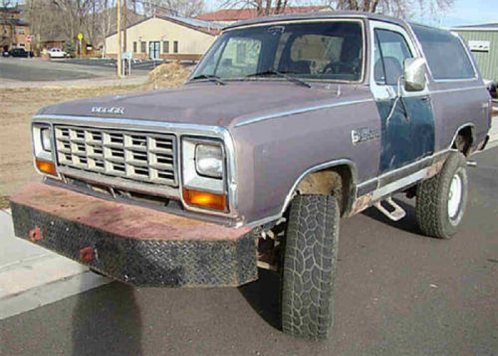 1985 Dodge Ram Charger Prospector 4x4, OFF Road Toy or Mud Bogg SUV in Silt,