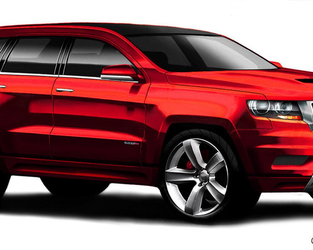 2012 Jeep Grand Cherokee SRT-8 Spied!! | IGN Boards