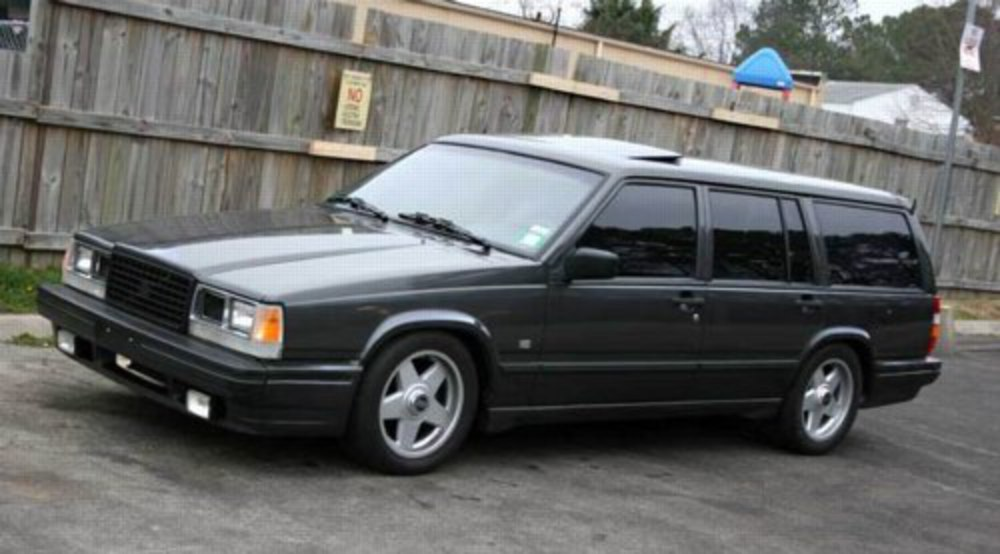 1991 Volvo 740 4 Dr Turbo Wagon picture, exterior